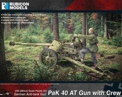 German PAK40 gun