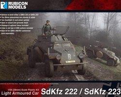 German SdKfz 222/223 armoured car