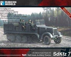 German SdKfz 7 halftrack