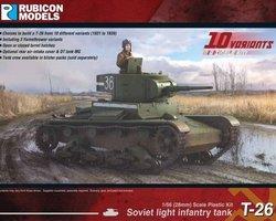 Soviet T26 light tank