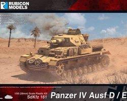 German Panzer IV Ausf D/E tank