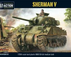 British Sherman V tank