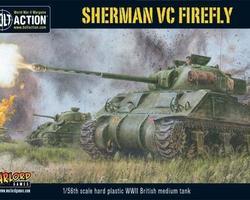 British Sherman VC Firefly tank