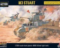 US M3 Stuart tank
