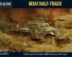 US M3A1 Halftrack