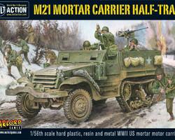 US M21 Mortar carrier Halftrack