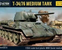 Soviet T34/76 tank