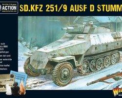 German SdKfz 251/9 Ausf D Stummel