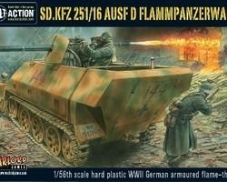 German SdKfz 251/16 Ausf D Flamm