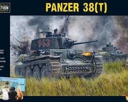 German Panzer 38(t) tank