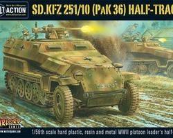 German SdKfz 251/10 Halftrack + PAK36