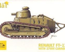 FT-17 tank with 37mm gun