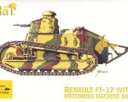 FT-17 tank with Hotchkiss MG