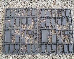 Plastic Gravestones