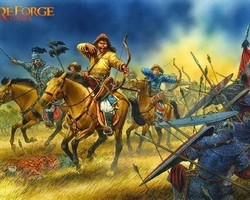 Mongol light cavalry