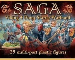 SAGA Viking 4 point starter Warband