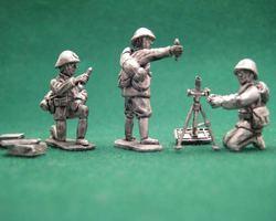 Dutch Brandt Mortar with crew