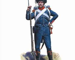 Nap French light infantry Carabiniers