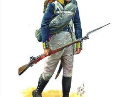 Nap Prussian infantry command