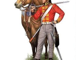 Nap British heavy Dragoons