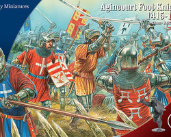 Agincourt foot knights 1415-1429