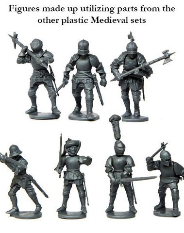 War of the Roses / 1450-1500 Foot knights