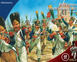 Nap French infantry 1807-1814 Elite Companies