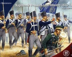 Nap Prussian infantry 1813-1815