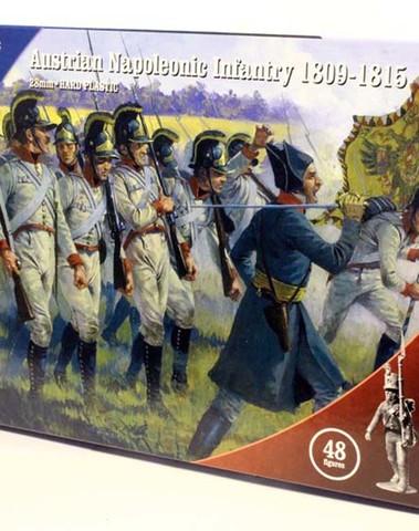 Nap Austrian infantry 1809-1815