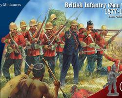 British infantry Zulu wars 1877-1881