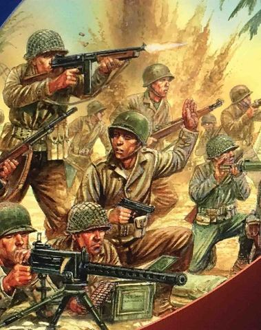 US infantry late war