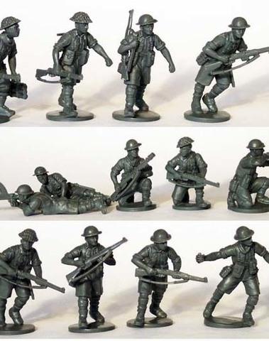 British infantry 8th Army Desert Rats