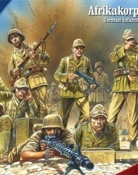German infantry Afrikakorps