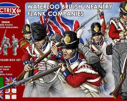 Nap British line infantry 1815 flank