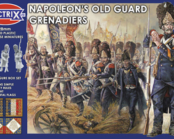 Nap French Old Guard grenadiers 1808-15