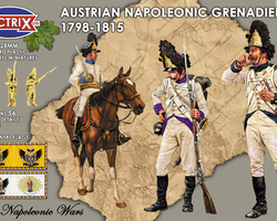 Nap Austrian line infantry grenadiers 1806-1815