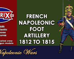 Nap French artillery 1812-1815