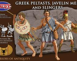 Greek Peltasts, Javelin men and Slingers