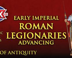 Roman Legionaries Advancing (Early Imperial)