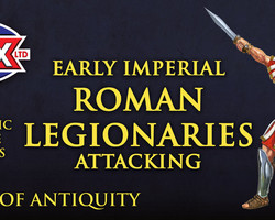 Roman Legionaries Attacking (Early Imperial)