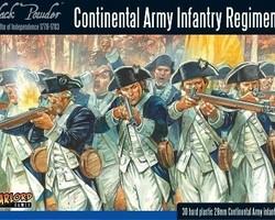 Continental infantry Regiment 1776-1783