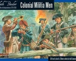 Colonial militia Men