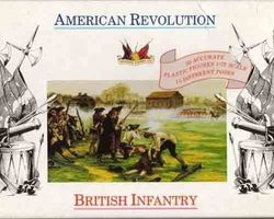 British infantry 1775-1783