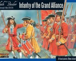 Infantry of the Great Alliance 1701-1714