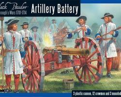 Artillery battery 1701-1714