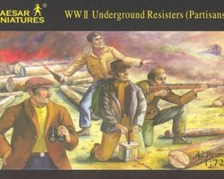 Underground resisters (Partisans)