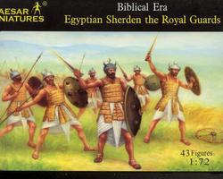 Egyptian Sherden Royal guard