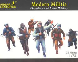 Modern militia (Somalian & Asian)