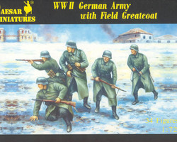 German Infantry with Greatcoat