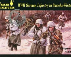 German infantry in smocks winter
